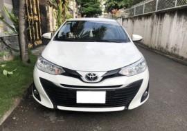 Bán Toyota Vios 2019, AT, dòng E, màu trắng